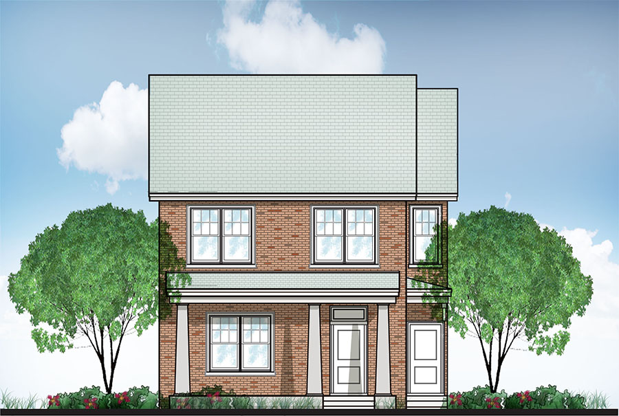 Dove Rendering - Laurel Street