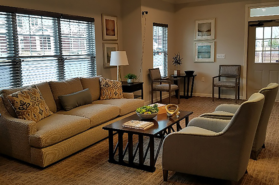 Burrell Square Community Room - Developed by Laurel Street