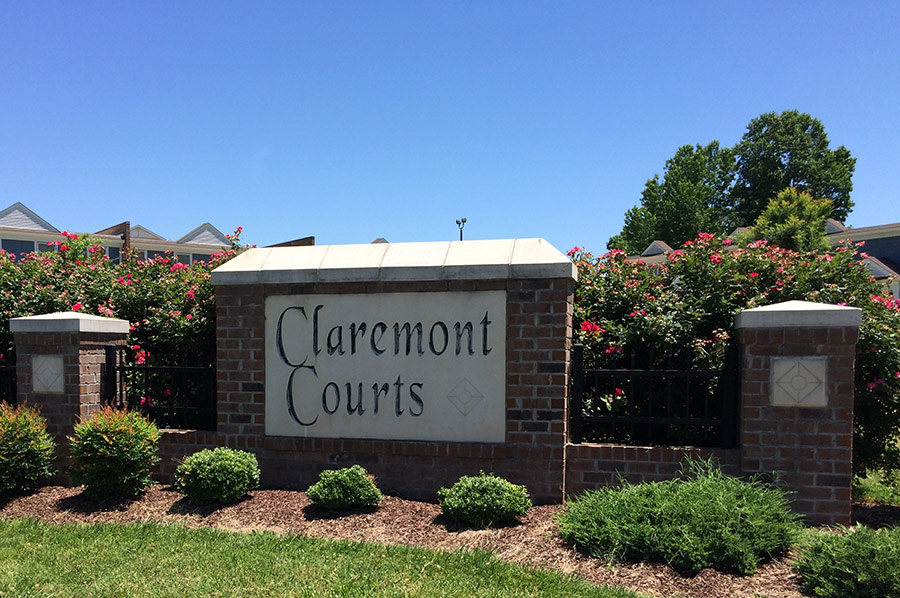 Claremont Courts by Laurel Street