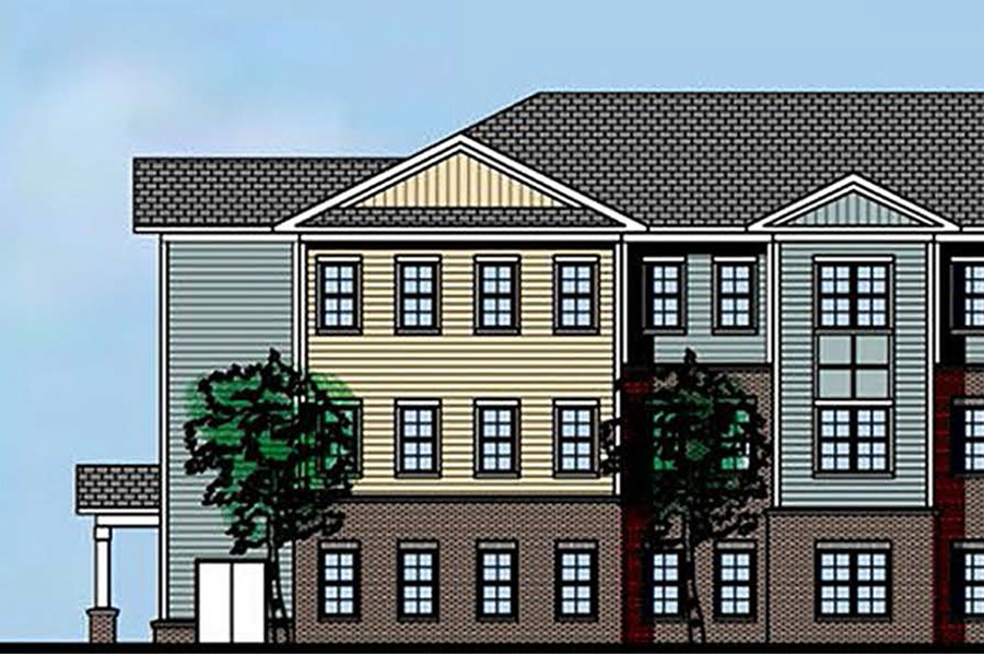 Gaston Boulevard Rendering - Laurel Street