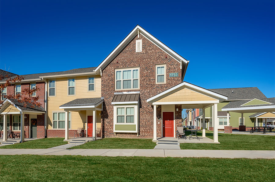 Townhomes at Renaissance - Developed by Laurel Street