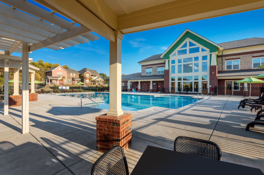 Pool and Clubhouse at Renaissance - Developed by Laurel Street